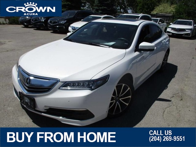 Certified Pre-Owned 2016 Acura TLX AWD Technology V6 **Navigation** Remote Start** No Charge 7 Year