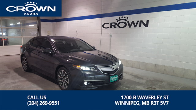 Certified Pre-Owned 2015 Acura TLX ELITE SH-AWD **0.9% Finance Ends This Month**