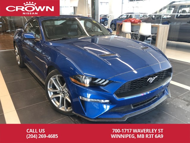Pre-Owned 2018 Ford Mustang Premium 2.3L Turbo *Navi/Bluetooth/Backup Camera*
