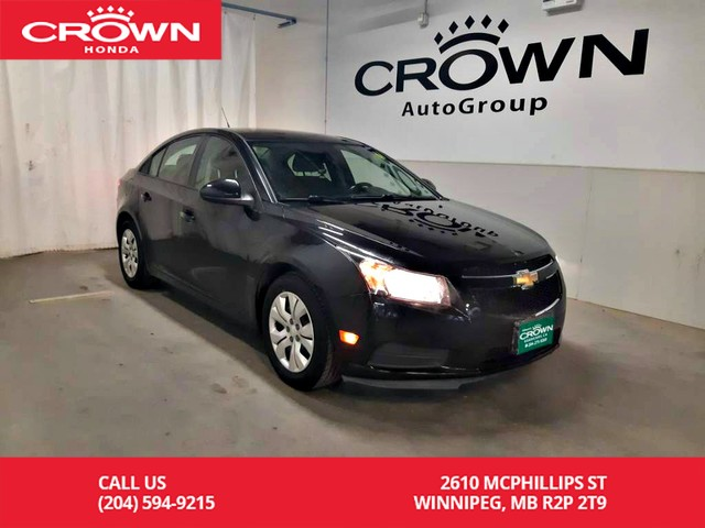 Pre-Owned 2014 Chevrolet Cruze 1LT/Mt/ Accident-free history/ low kilometers