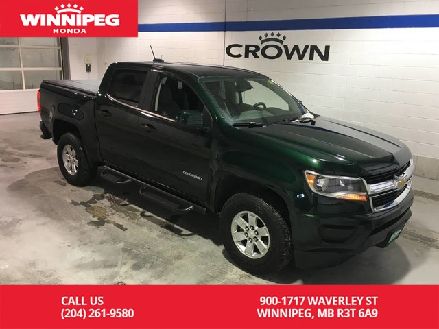 Pre-Owned 2015 Chevrolet Colorado 2WD Crew Cab 128.3 WT/Running boards/Tonneau cover