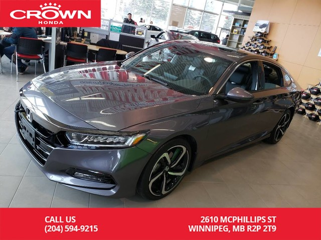 New 2019 Honda Accord Sedan Sport 2.0 Auto