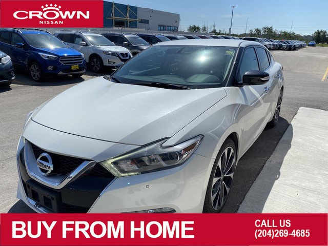 Pre-Owned 2016 Nissan Maxima SV *Low Km/Local/Great Shape/Winter Tires!*