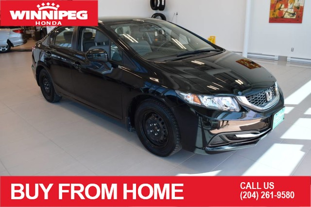 Pre-Owned 2014 Honda Civic Sedan LX / Bluetooth / Econ mode / #1 car in Canada