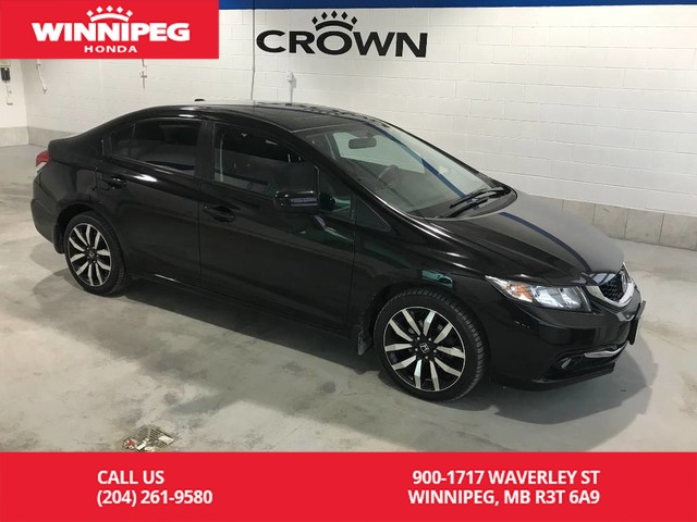 Pre Owned 2017 Honda Civic Sedan Touring Lease Return Fully Loaded Bluetooth