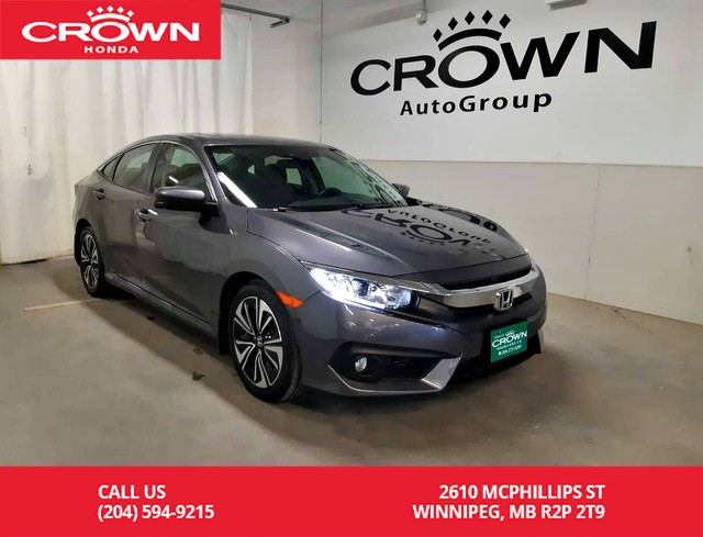 Pre Owned 2018 Honda Civic Sedan Ex T Lease Return Low Kms