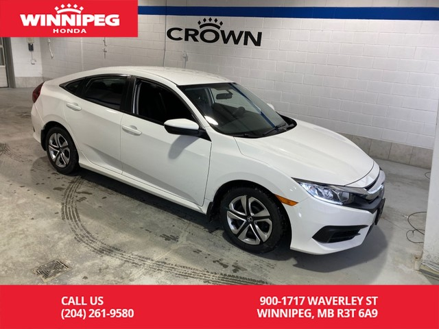 Certified Pre-Owned 2016 Honda Civic Sedan LX / Certified / Rear view camera / Bluetooth / Heated seats