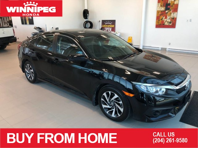 Certified Pre-Owned 2018 Honda Civic Sedan EX / Certified / Sunroof / Heated seats / Lane watch camera / Ho