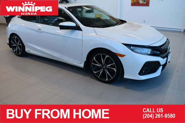 Pre-Owned 2018 Honda Civic Coupe Si / Navigation / Heated seats / Sunroof / Honda safety sensing