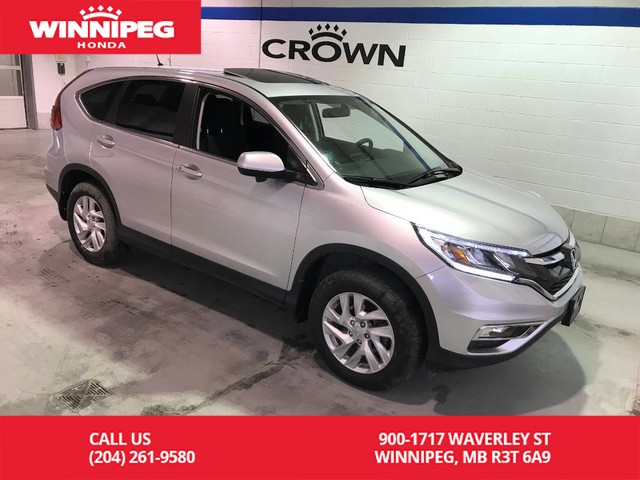 Pre-Owned 2016 Honda CR-V Certified/EX/Bluetooth/Heated seats/Sunroof