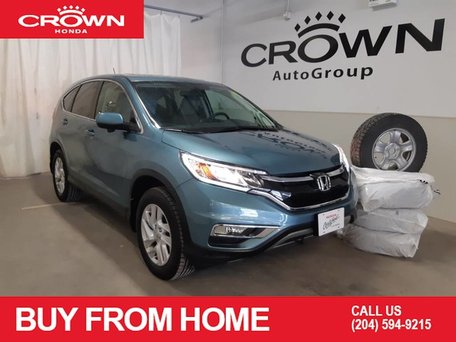 Pre-Owned 2016 Honda CR-V EX/ awd/ WINTER TIRES/ SUNROOF/ PUSH START/ ECON MODE/ LANE WATCH CA,M/ HEATED SEATS