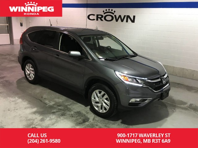 Certified Pre-Owned 2016 Honda CR-V Certified/EX/Sunroof/Heated seats/Bluetooth/Lane watch display
