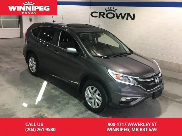 Pre-Owned 2016 Honda CR-V EX-L/AWD/Bluetooth/Lane watch display/Heated seats/Rear view camera