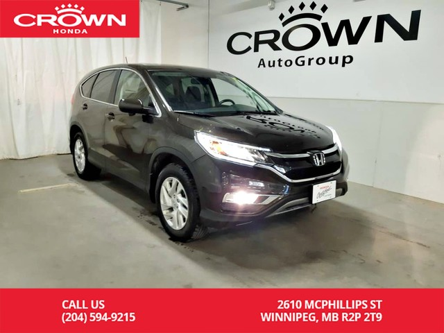 Certified Pre-Owned 2016 Honda CR-V EX-L/ AWD/ ONE OWNER/ LOW KMS/ PUSH START BUTTON/ ECON MODE ASSIST/ BACK UP CAM/ HEATED SEATS