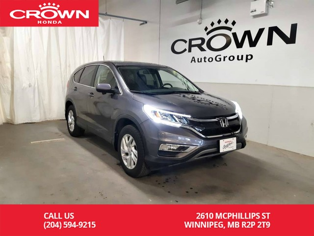 Certified Pre-Owned 2016 Honda CR-V EX-L/accident-free history/ one owner lease return/ low kms/ sunroof/push start/econ mode/ heated seats/back up cam