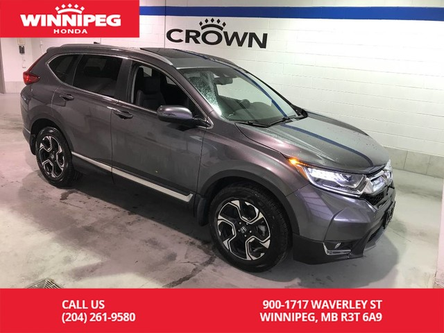 Pre-Owned 2017 Honda CR-V Certified/Touring/Bluetooth/Panoramic roof/Heated steering wheel