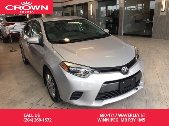 Pre-Owned 2016 Toyota Corolla LE | One Owner | Local Trade