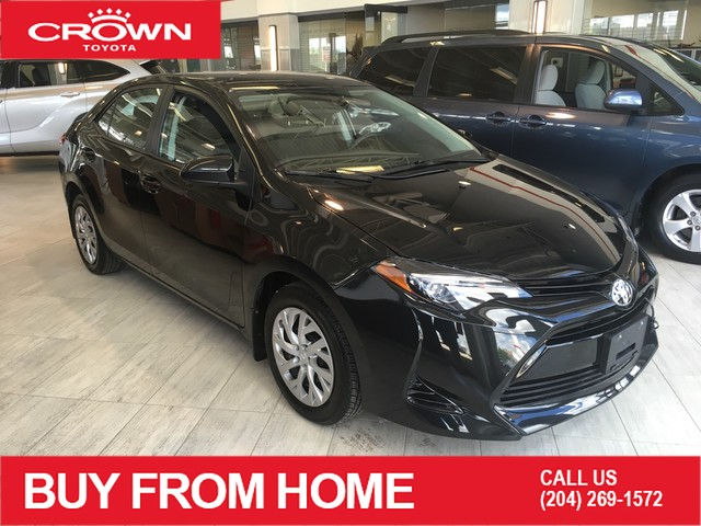 Certified Pre-Owned 2017 Toyota Corolla Crown Original | One Owner | LE