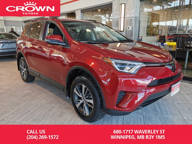 Certified Pre-Owned 2018 Toyota RAV4 CERTIFIED / CROWN ORIGINAL / AWD / LE / BACK UP CAMERA / HEATED SEATS / ACCIDENT FREE