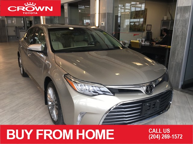 Certified Pre-Owned 2018 Toyota Avalon Limited | Crown Original