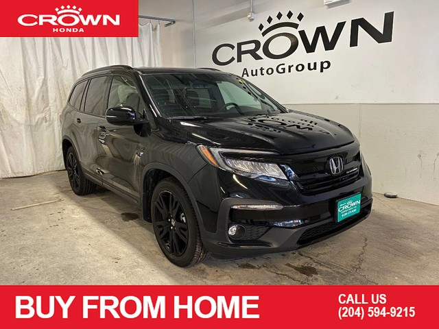 Pre-Owned 2019 Honda Pilot Black Edition AWD/ ACCIDENT FREE HISTORY/ APPLE CARPLAY AND ANDROID AUTO/ POWER MOONROOF