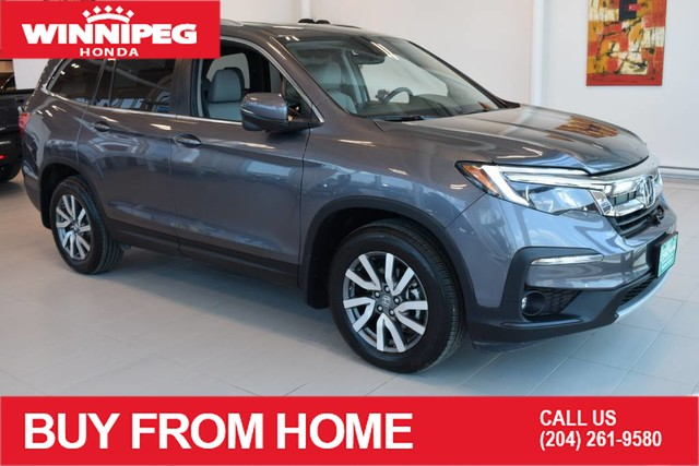 Pre-Owned 2019 Honda Pilot EX-L Navi / Certified / Lane watch camera / Remote start