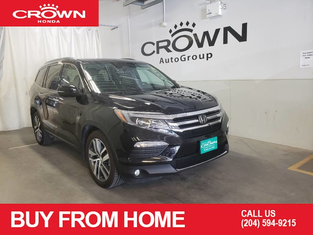 Pre-Owned 2016 Honda Pilot Touring,Sunroof, Leather seats, Air Conditioning, Navigation System, Rear Entertainment system