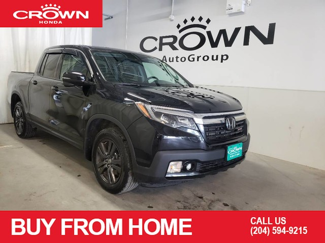 Pre-Owned 2018 Honda Ridgeline Sport AWD/Low Kilometer/One owner/Back-up Camera/Honda Sensing/Heated Seats/Bluetooth