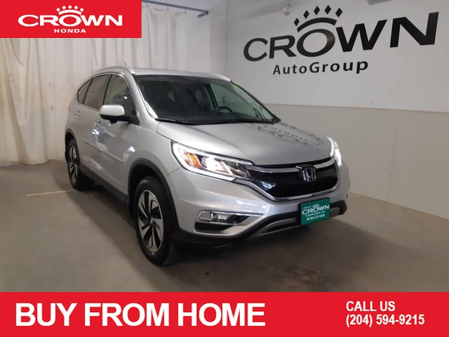 Pre-Owned 2015 Honda CR-V AWD 5dr Touring/Locally owned/Heated seats/Bluetooth/Push Button Start