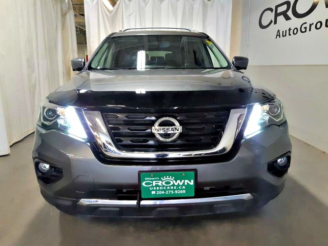 Pre-Owned 2018 Nissan Pathfinder 4x4 SL/ ACCIDENT-FREE/ ONE OWNER/LOW KMS/  360 camera views/PANORamic sunroof AWD
