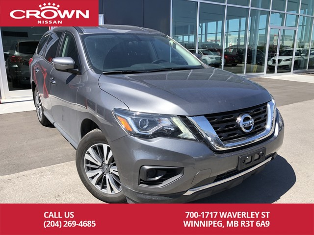Pre-Owned 2017 Nissan Pathfinder 2WD 4dr S SUV in Winnipeg #52541