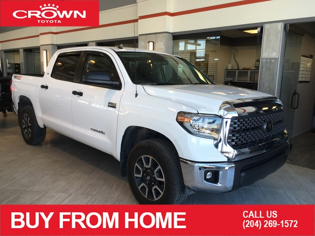 Certified Pre-Owned 2018 Toyota Tundra Crown Original | Crewmax SR5 Plus | Local Trade