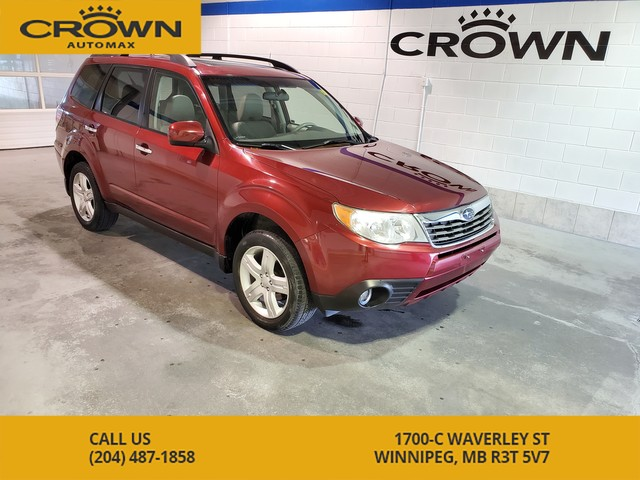 Pre-Owned 2010 Subaru Forester 2.5X Limited **Leather, navi, heated seats, sun roof*