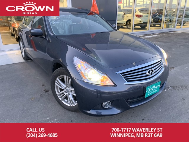 Pre-Owned 2012 INFINITI G37 Sedan Luxury AWD *Bluetooth/Leather/Winter Tires*