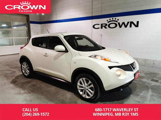 Pre-Owned 2011 Nissan JUKE SV Man Fwd / One Owner/ Services With Nissan / Low Kms / Leather