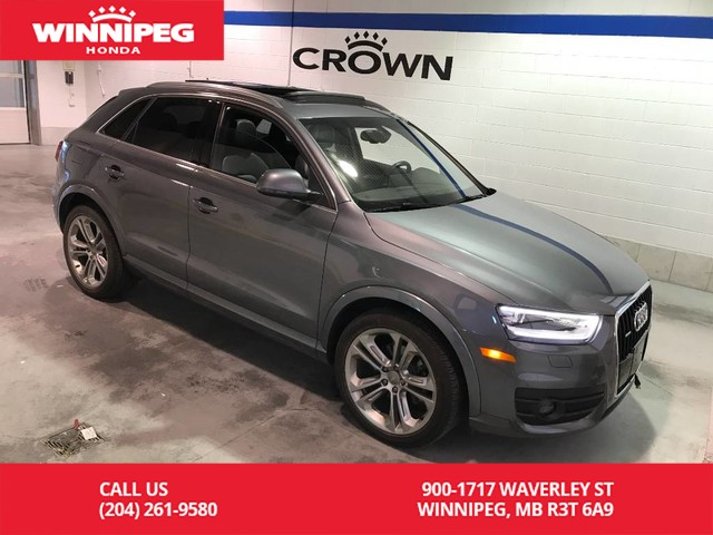 Pre-Owned 2015 Audi Q3 quattro 4dr 2.0T Progressiv/Panotamic roof/Bluetooth/Leather
