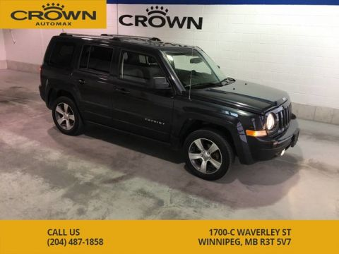 Pre-Owned 2016 Jeep Patriot 4WD High Altitude ** No Accidents, Leather, Sun Roof**