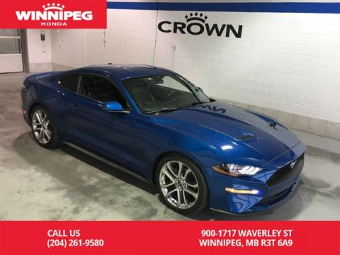 Pre-Owned 2018 Ford Mustang EcoBoost Premium/Climate controlled seats/Bluetooth/Navigation/L