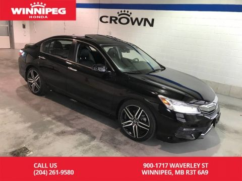 Certified Pre-Owned 2016 Honda Accord Sedan Touring/Navigation/Bluetooth/Leather/Sunroof/Heated seats