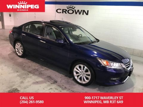 Pre-Owned 2015 Honda Accord Sedan Certified/Touring/Bluetooth/heated seats/sunroof/navigaiton