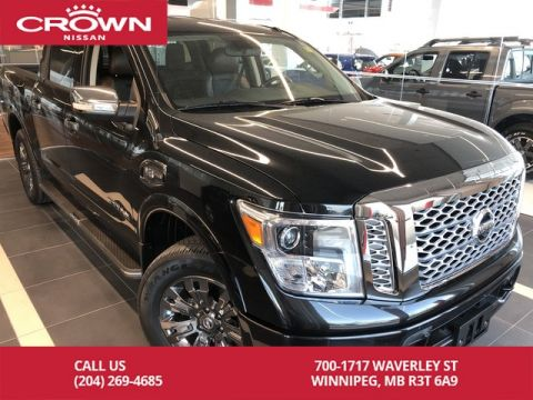 Pre-Owned 2017 Nissan Titan Platinum Reserve Crew Cab 4WD *Clean CarFax/Local Trade*