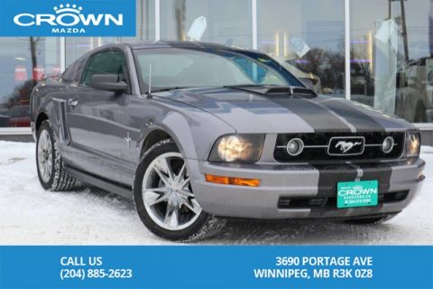 Pre-Owned 2006 Ford Mustang 2dr Cpe 4.0L *HOOD SCOOP *GREAT CONDITION