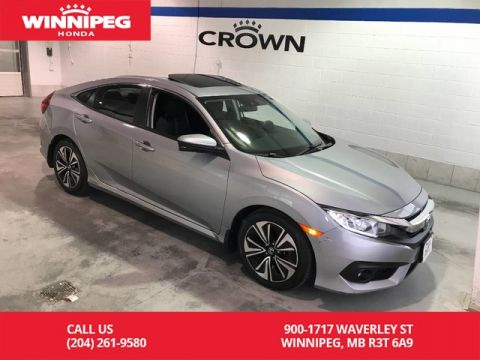 Certified Pre-Owned 2016 Honda Civic Sedan Certified/EX-T/Bluetooth/Heated seats/Rear view camera/Lane watc