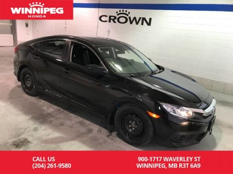 Pre-Owned 2017 Honda Civic Sedan Certified/LX w/Honda Sensing/Bluetooth/Heated seats/Apple car pl
