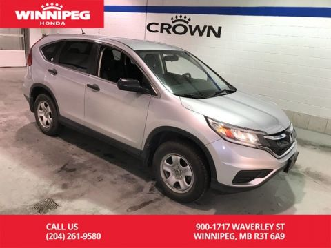Pre-Owned 2015 Honda CR-V LX/2wd/Heated seats/Bluetooth/Rear view camera