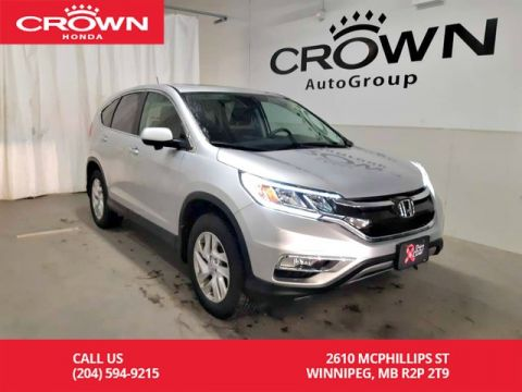 Pre-Owned 2016 Honda CR-V EX/ AWD/ ACCIDENT-FREE/ ONE OWNER/ ONE OWNER LEASE RETURN/ BACK