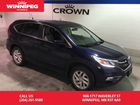 Certified Pre-Owned 2016 Honda CR-V Certified/Sunroof/Heated seats/Bluetooth