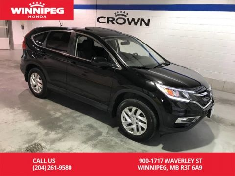 Certified Pre-Owned 2015 Honda CR-V Certified/EX/Bluetooth/Sunroof/Heated seats/Lane watch