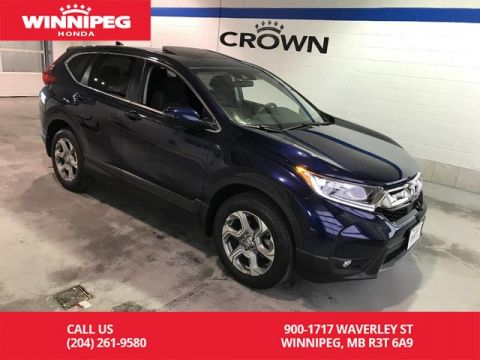 Certified Pre-Owned 2018 Honda CR-V Certified/EX/Sunroof/Bluetooth/Remote starter/Heated seats