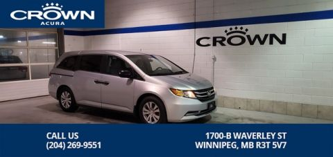 Pre-Owned 2015 Honda Odyssey SE ** Alloy Rims** Bluetooth ** 1 Owner Lease Return**